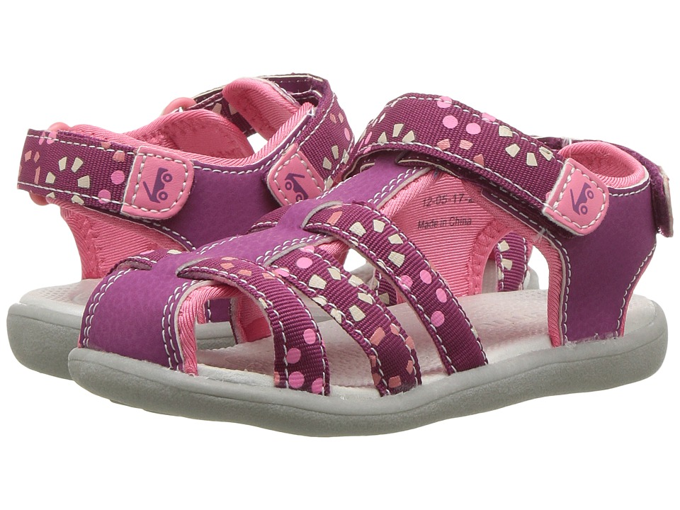 See Kai Run Kids Paley Webbing (Toddler) (Magenta) Girl