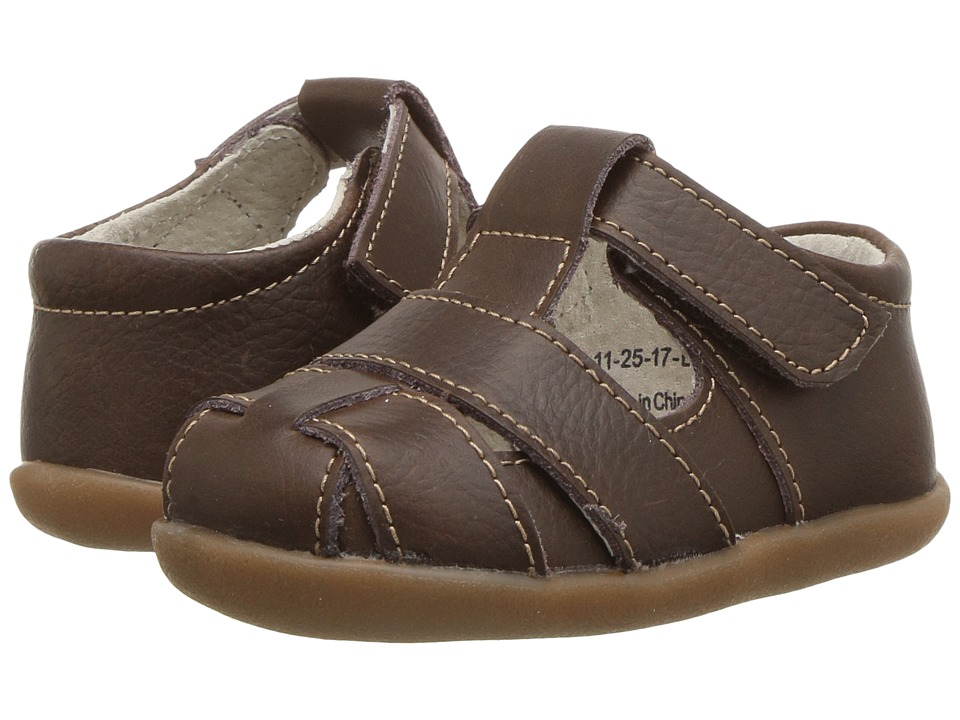 See Kai Run Kids Patrick III (Infant/Toddler) (Brown Leather) Boy's Shoes