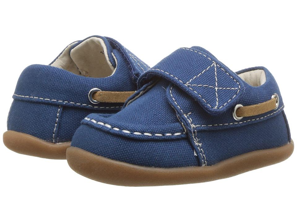 See Kai Run Kids Arthur (Infant/Toddler) (Blue Canvas) Boy's Shoes