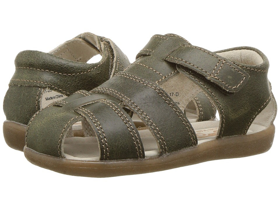See Kai Run Kids Jude III (Toddler) (Olive) Boy's Shoes