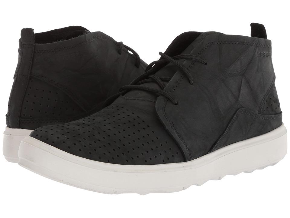 Merrell - Around Town City Chukka Air (Black) Womens Shoes