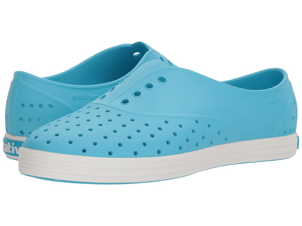 Native Shoes - Jericho (Safari Blue/Shell White) Womens  Shoes