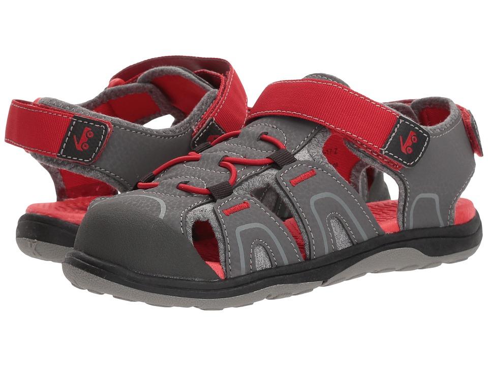 See Kai Run Kids Lincoln III (Little Kid/Big Kid) (Gray) Boy's Shoes
