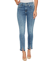7 For All Mankind - The Ankle Skinny w/ Seams & Front Splits in Rockaway Beach