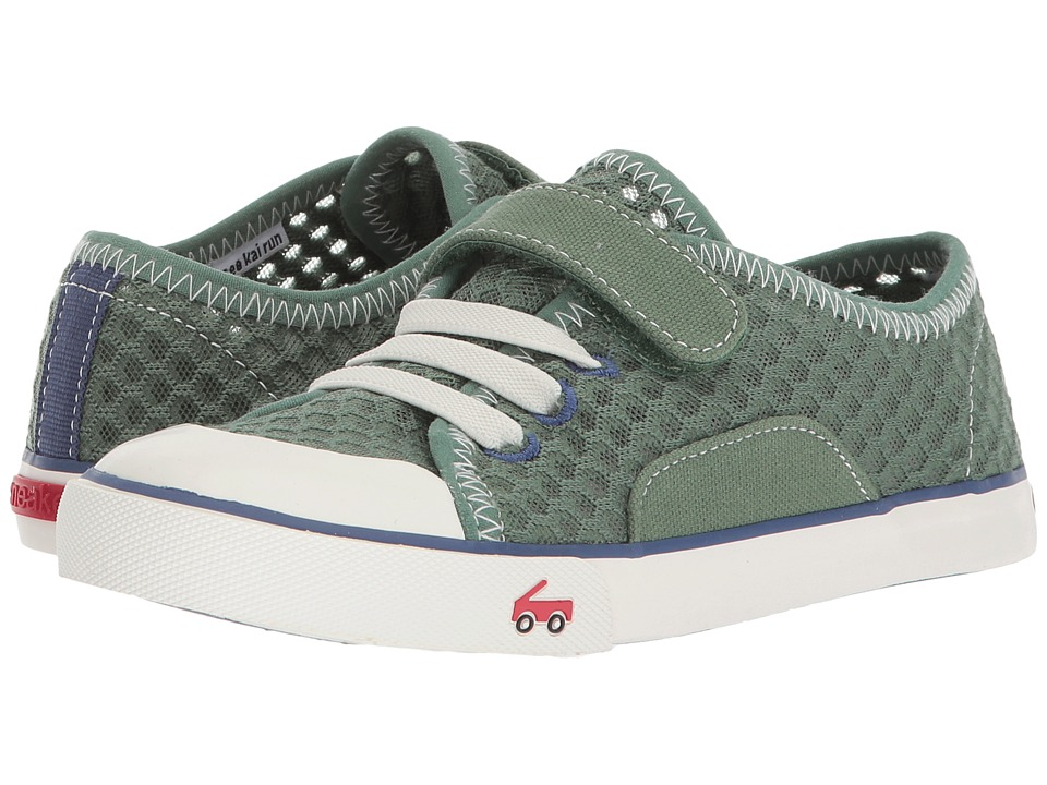 See Kai Run Kids Saylor (Little Kid/Big Kid) (Green) Boy's Shoes