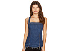 7 For All Mankind - Tank Top w/ Released Step Hem in Sunrise