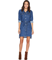 7 For All Mankind - Long Trucker w/ Belt Dress in Sunrise