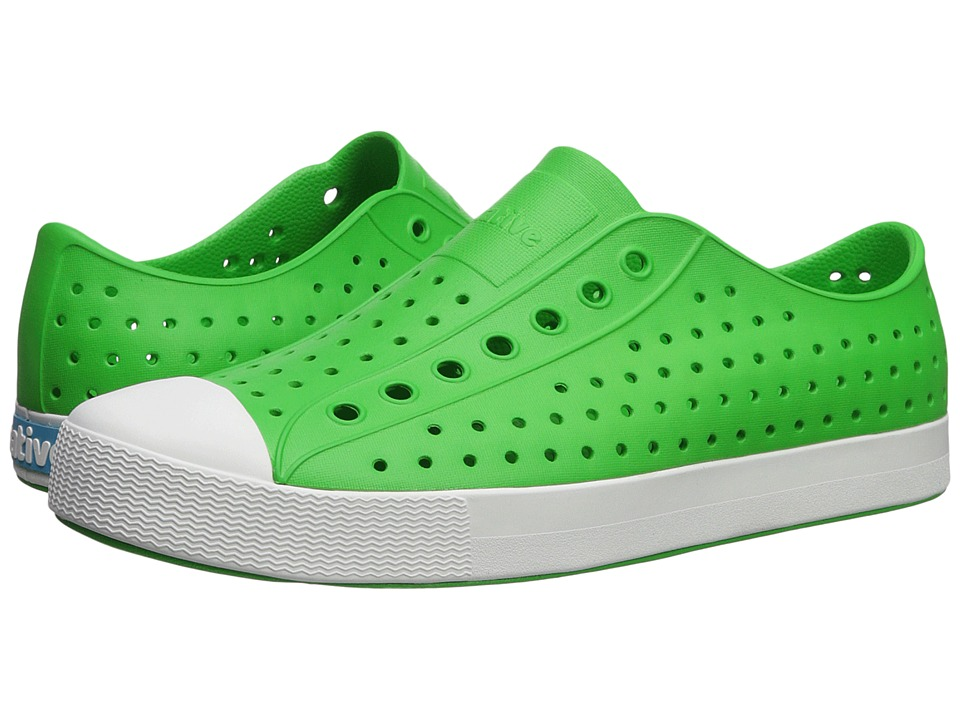 Native Shoes - Jefferson (Grasshopper Green/Shell White) Shoes
