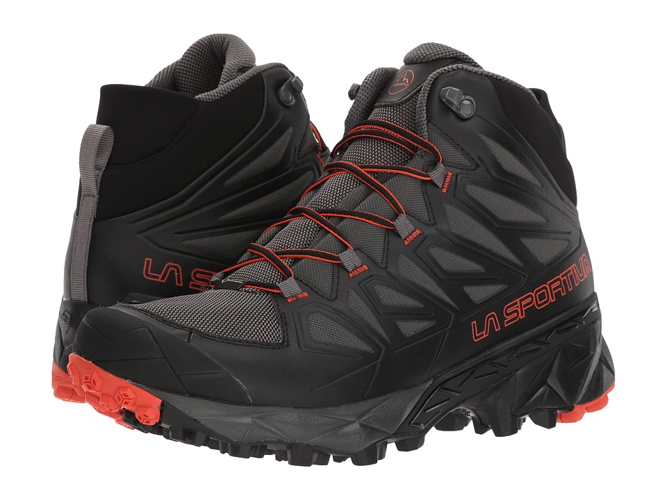 La Sportiva - Blade GTX (Black/Tangerine) Mens Shoes
