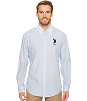 U.S. POLO ASSN. - Classic Fit Stripe, Plaid or Print Long Sleeve Sport Shirt