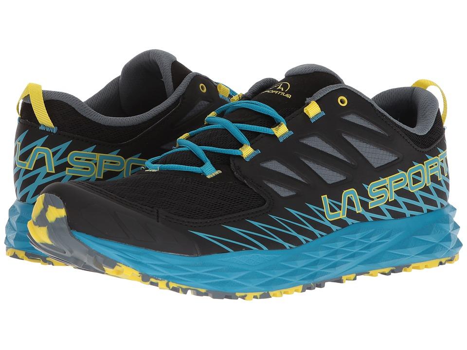La Sportiva - Lycan (Black/Tropic Blue) Mens Shoes