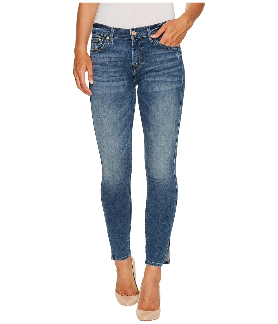 7 For All Mankind 7 For All Mankind - Ankle Skinny w/ Side Splits Distress in Kings Street