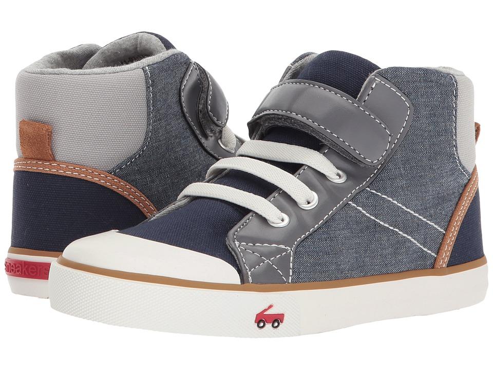 See Kai Run Kids Dane (Little Kid) (Chambray Multi) Boy's Shoes