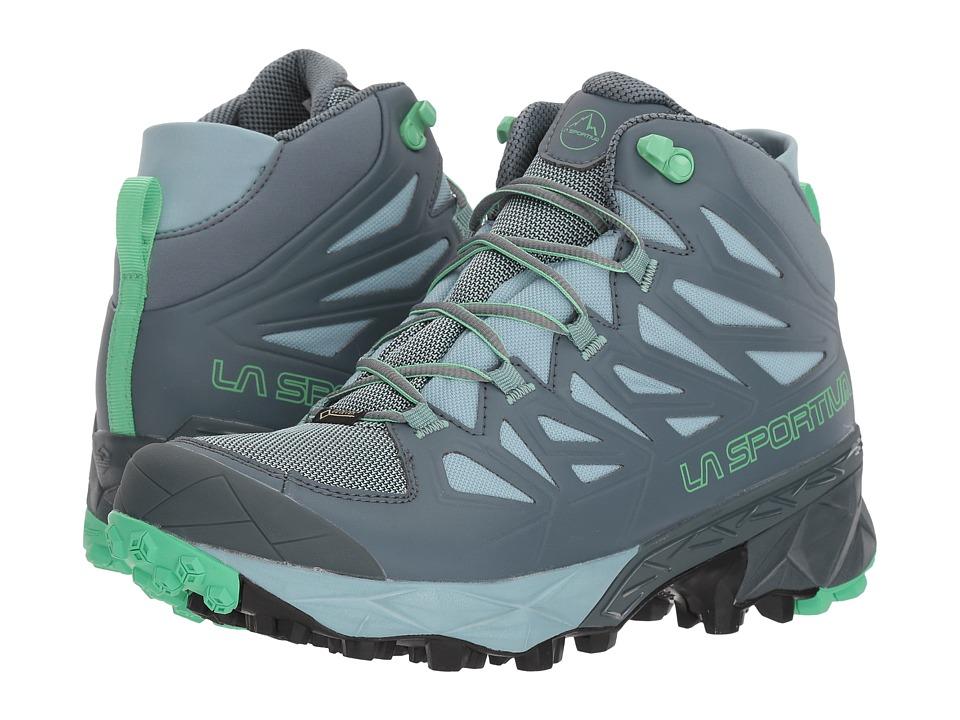 La Sportiva - Blade GTX (Slate/Jade Green) Womens Shoes