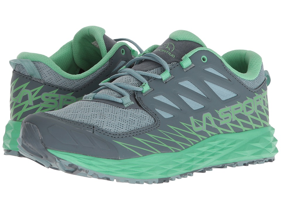 La Sportiva - Lycan (Stone Blue/Jade Green) Womens Shoes