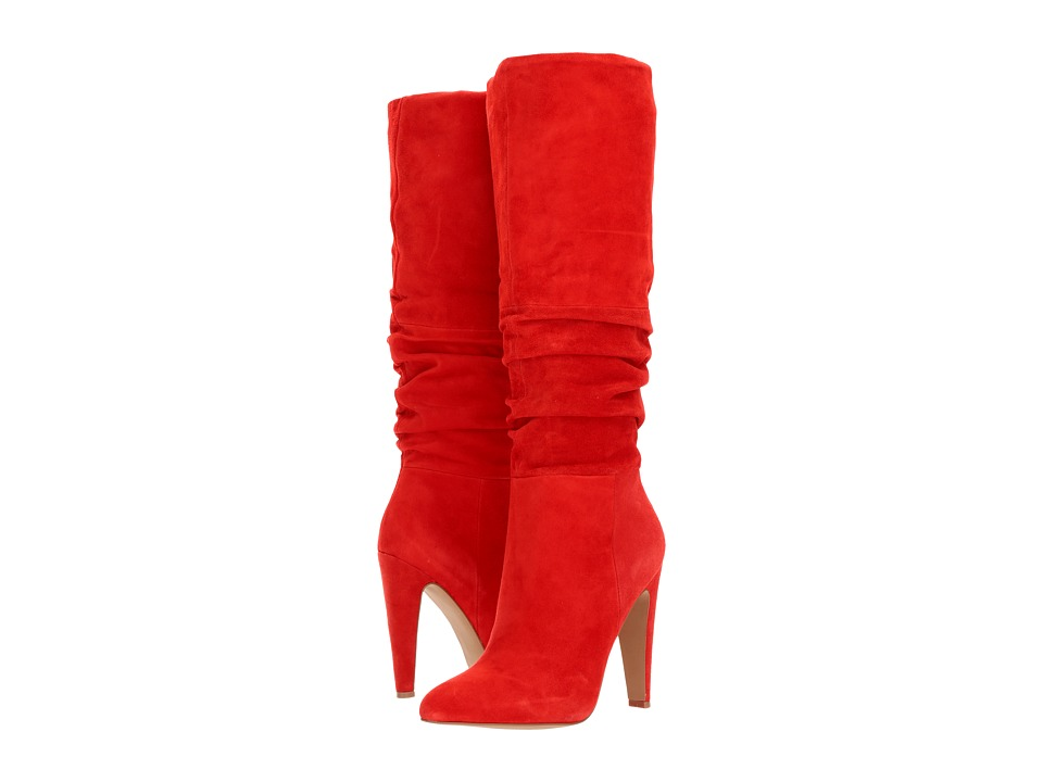 Steve Madden Carrie (Red Suede) Women