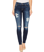 7 For All Mankind - The Ankle Skinny w/ Destroy in Aggressive Madison Ave 2