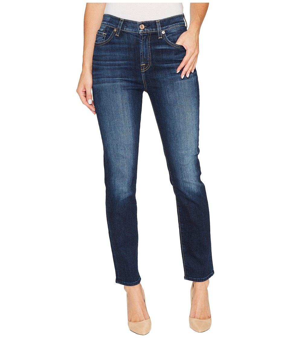 7 For All Mankind - High Waist Roxanne Ankle in Aggressive Madison Ave
