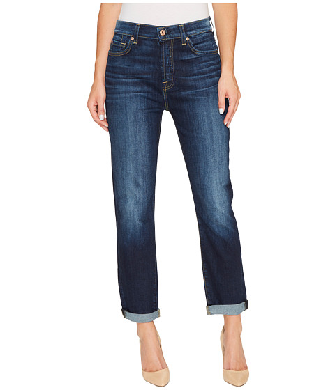 7 For All Mankind High Waist Josefina without Squiggle in Aggressive Madison Ave