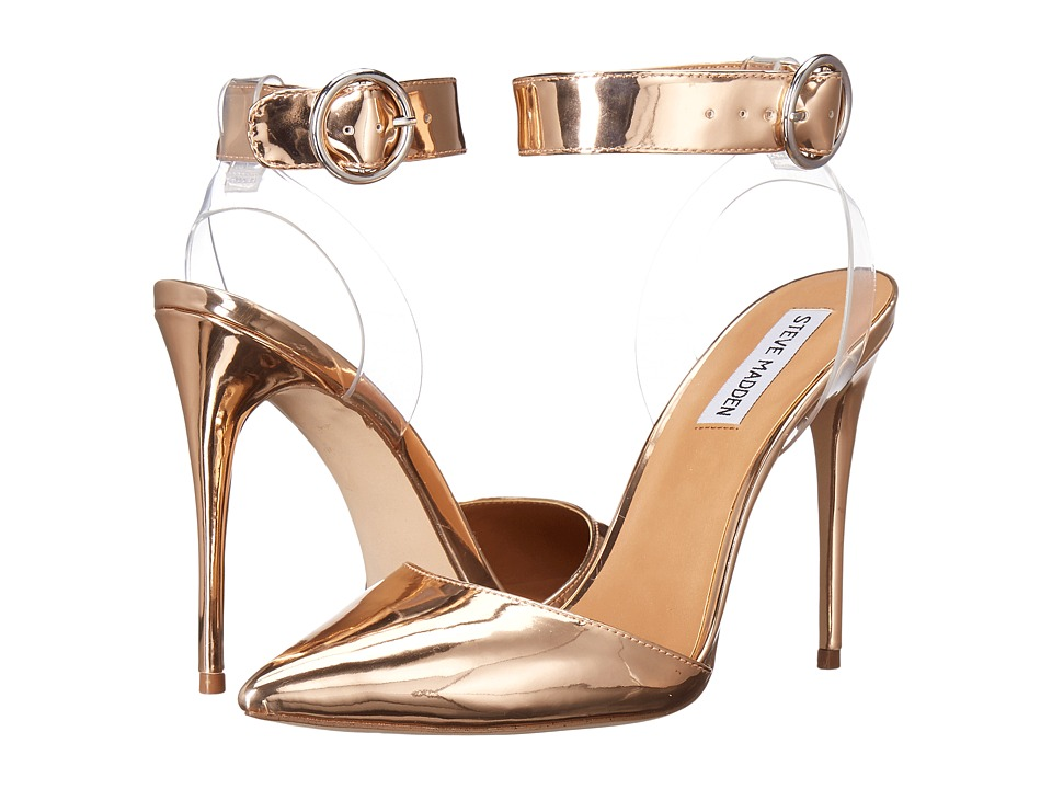 Steve Madden Diva (Rose Gold) High Heels