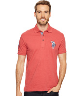 U.S. POLO ASSN. - Slim Fit Solid Short Sleeve Jersey Polo Shirt