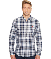 U.S. POLO ASSN. - Slim Fit Stripe, Plaid or Print Long Sleeve Sport Shirt