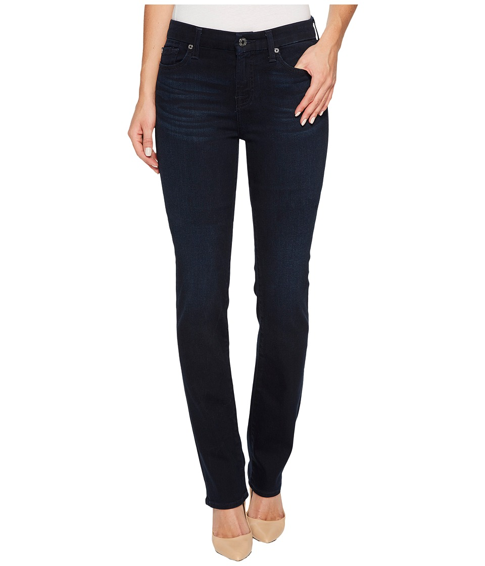 7 For All Mankind - Kimmie Straight in Dark Blue Dahlia