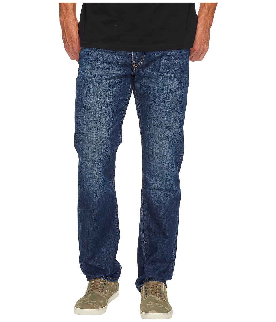 Levis(r) Mens - 514 Straight Fit - Made in The Usa (Dark Authentic) Mens Jeans