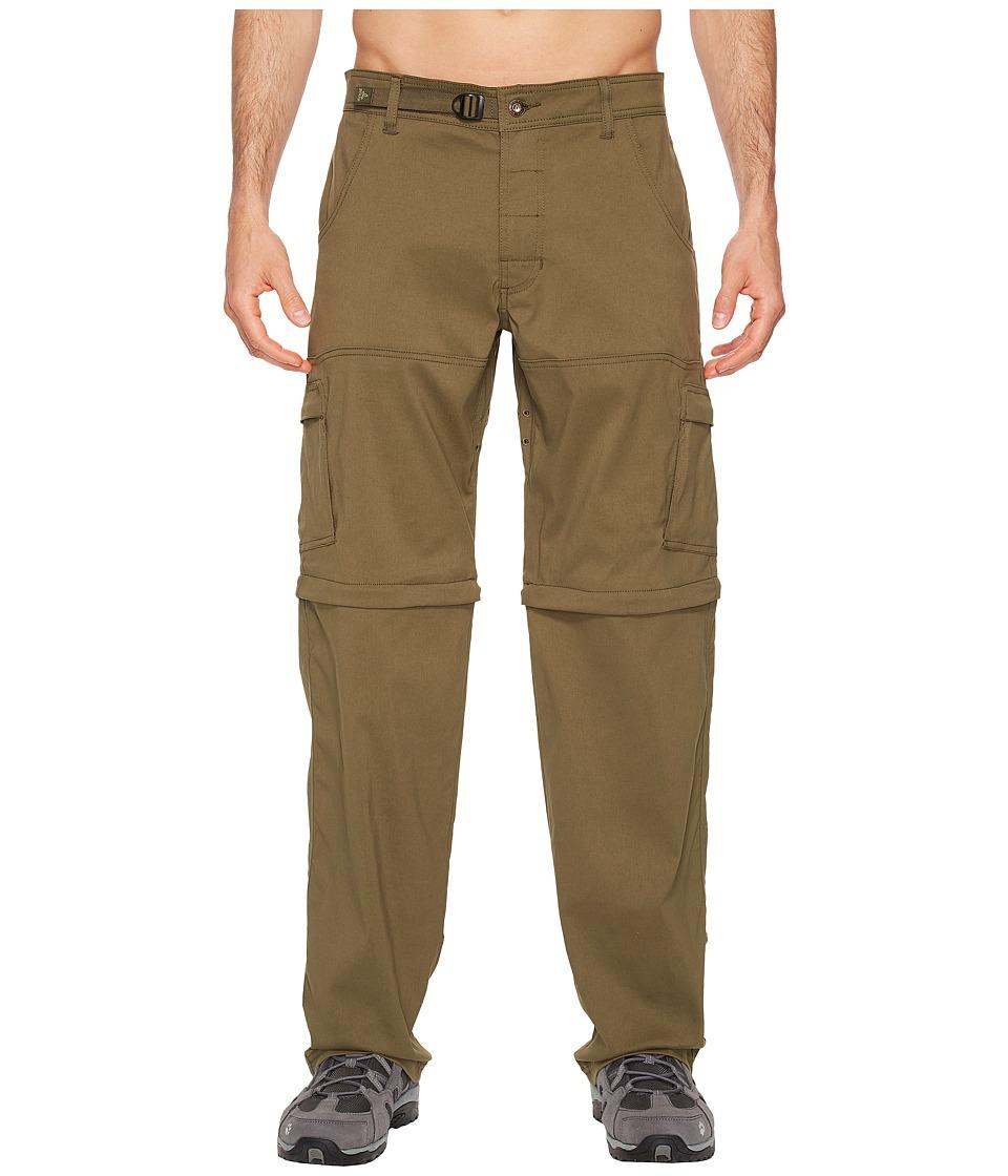 Prana Stretch Zion Convertible Pant (Cargo Green) Men