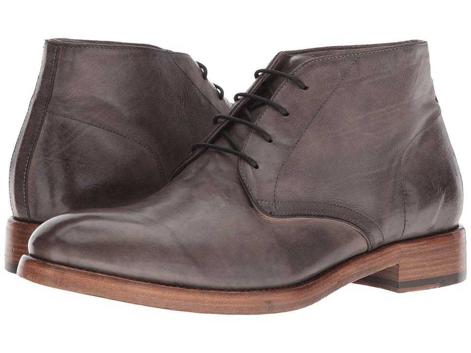 Frye - Chase Chukka (Grey Tumbled Waxed Calf) Mens Pull-on Boots