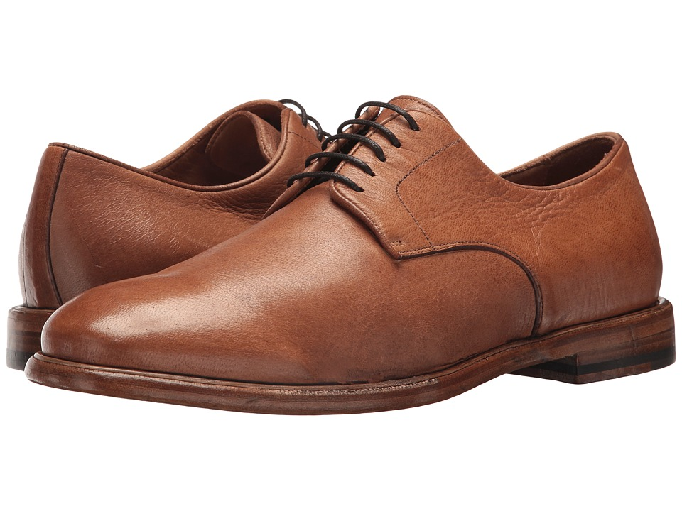 Frye Fisher Oxford (Tan Deer Skin Leather) Men