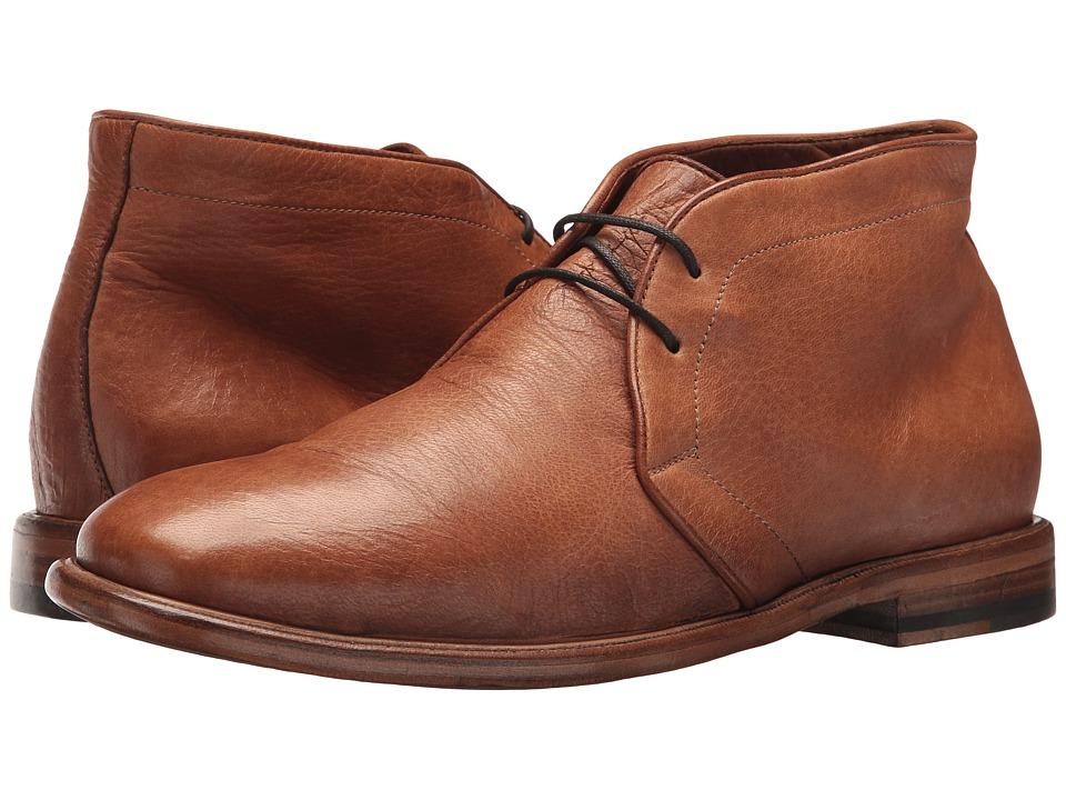 Frye Fisher Chukka (Tan Deer Skin Leather) Men