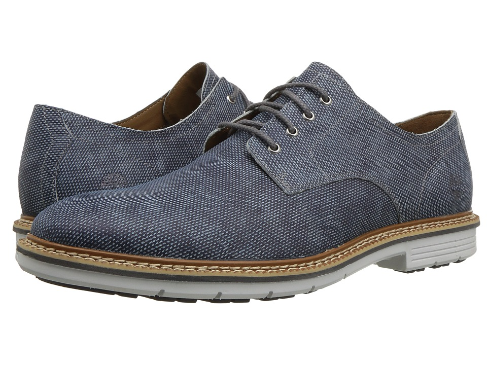 Timberland - Naples Trail Oxford (Dark Blue Printed Nubuck) Mens Lace up casual Shoes