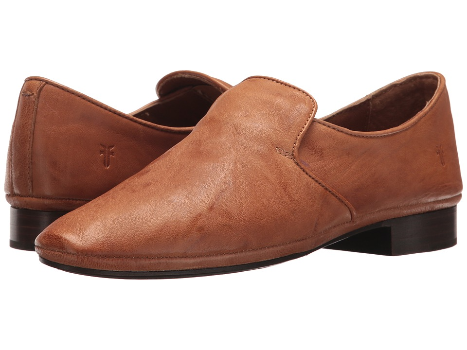 Frye Ashley Slip-On (Camel Antique Soft Vintage) Slip-On Shoes