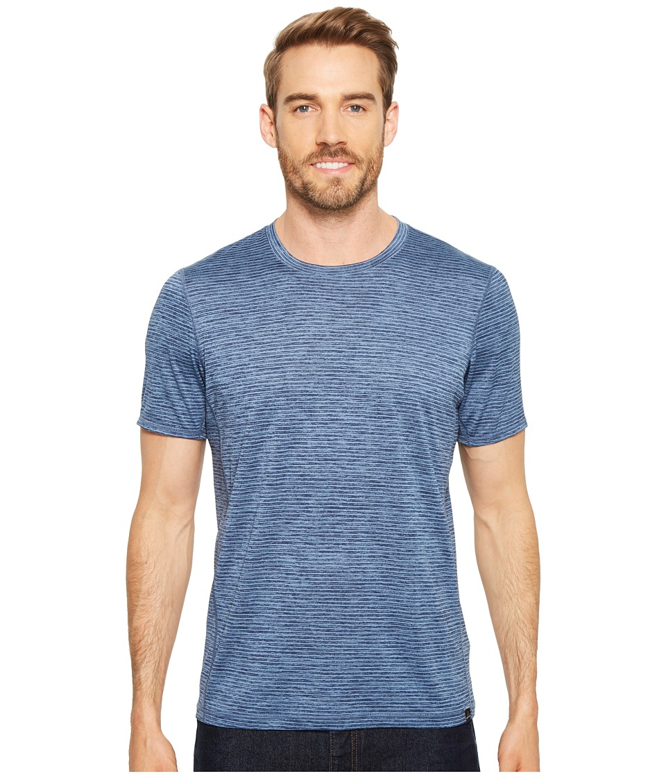 Prana Hardesty T-Shirt (Sunbleached Blue Stripe) Men
