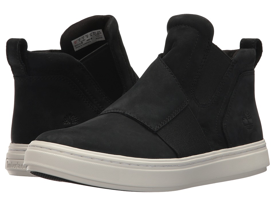 Timberland - Londyn Chelsea (Black Nubuck) Womens Pull-on Boots
