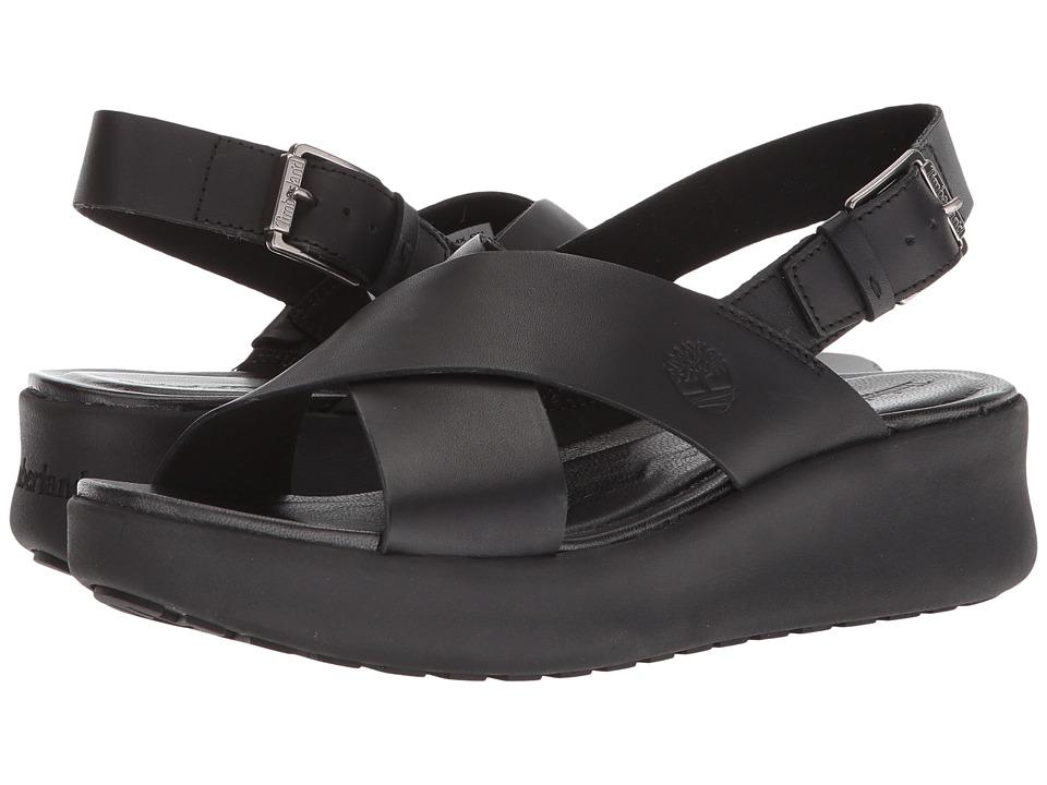 Timberland - Los Angeles Wind Slingback (Black Full Grain) Womens Sling Back Shoes