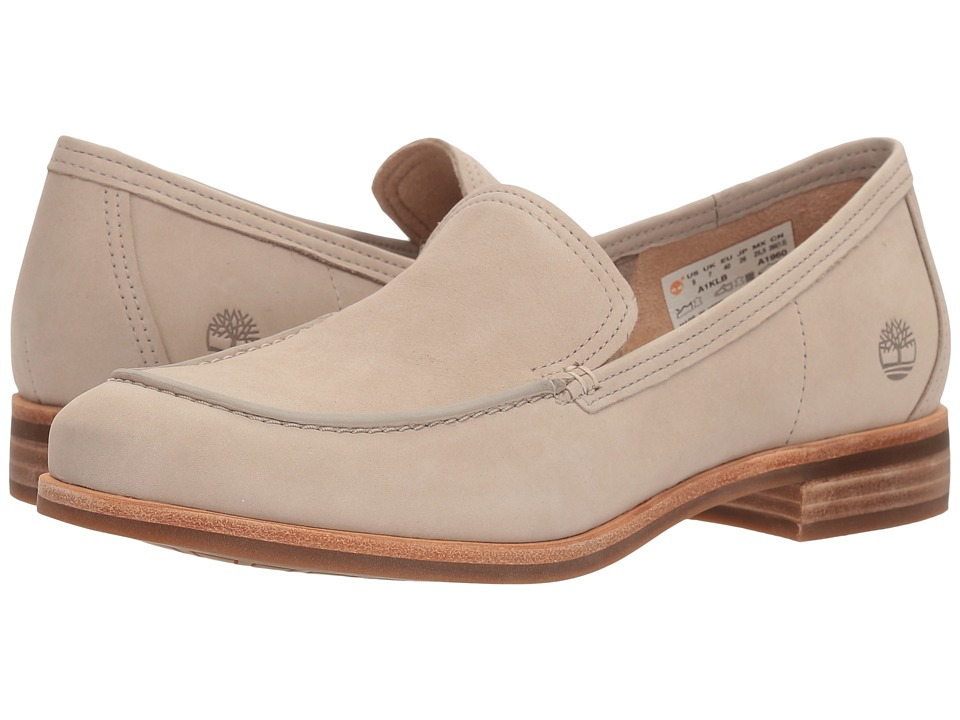 Timberland - Somers Falls Loafer (Light Taupe Nubuck) Womens Slip-on Dress Shoes