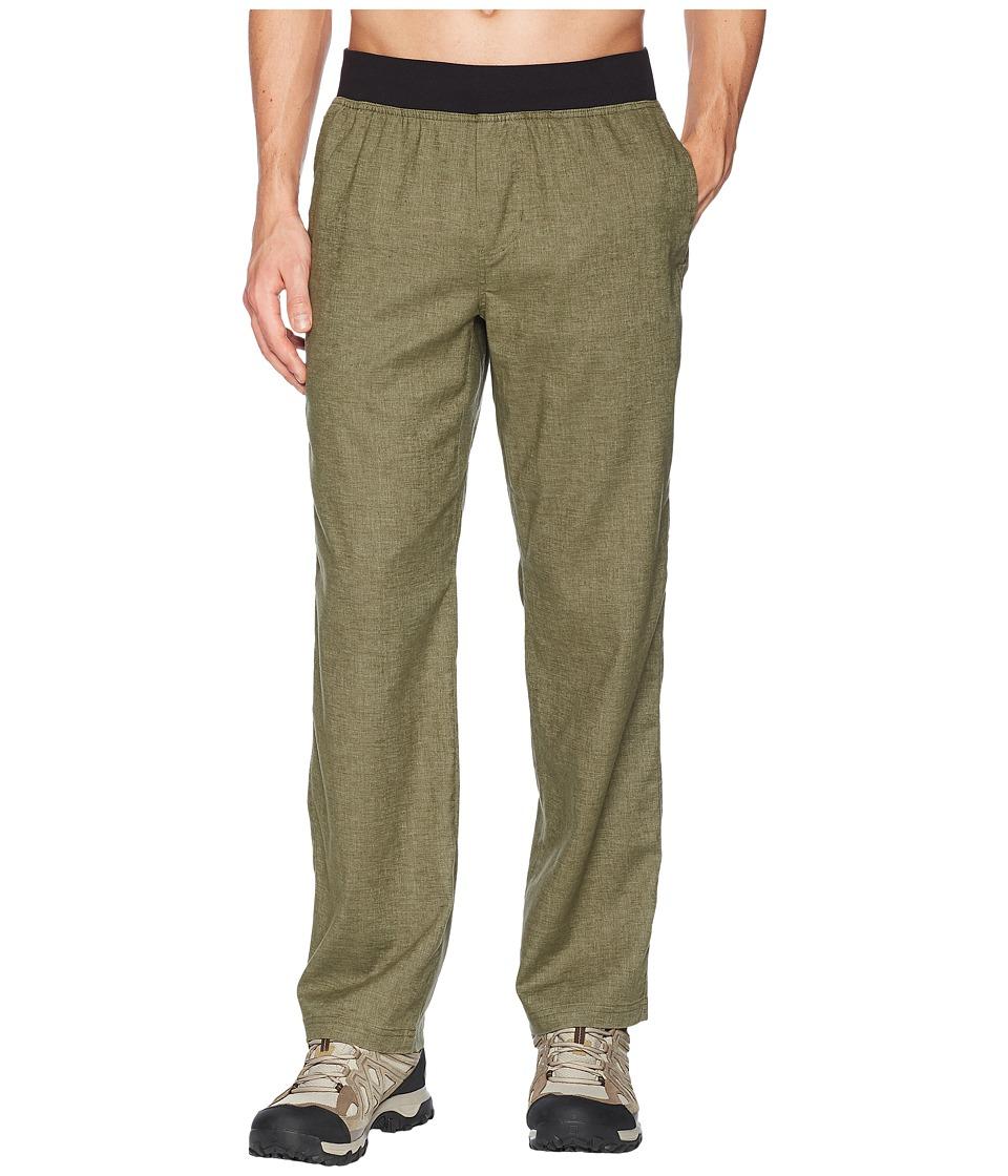 Prana Vaha Pants (Cargo Green) Men