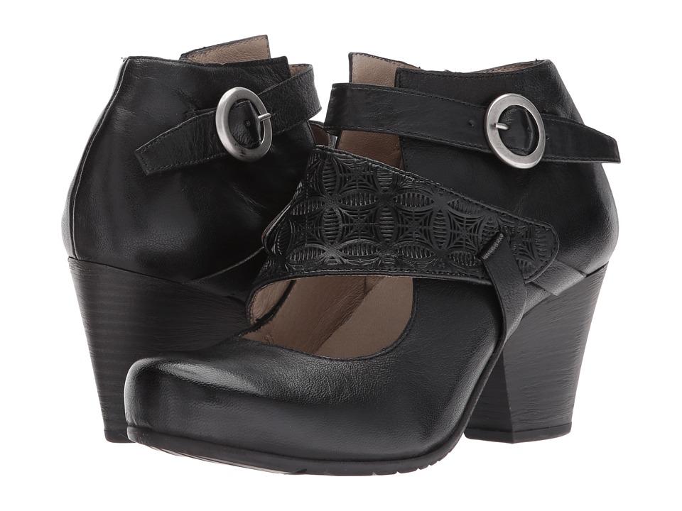 Miz Mooz Dale (Black) Women's  Shoes