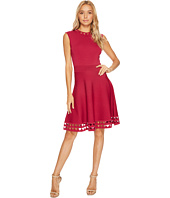 Ted Baker - Kathryn Cutwork Knitted Skater Dress