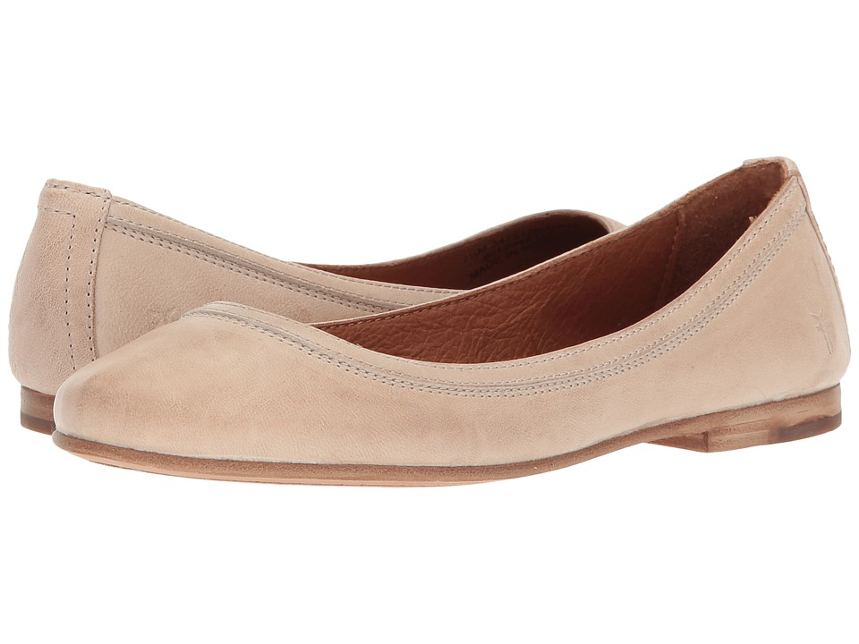 Frye Carson Ballet (Cream Antique Soft Vintage) Flats
