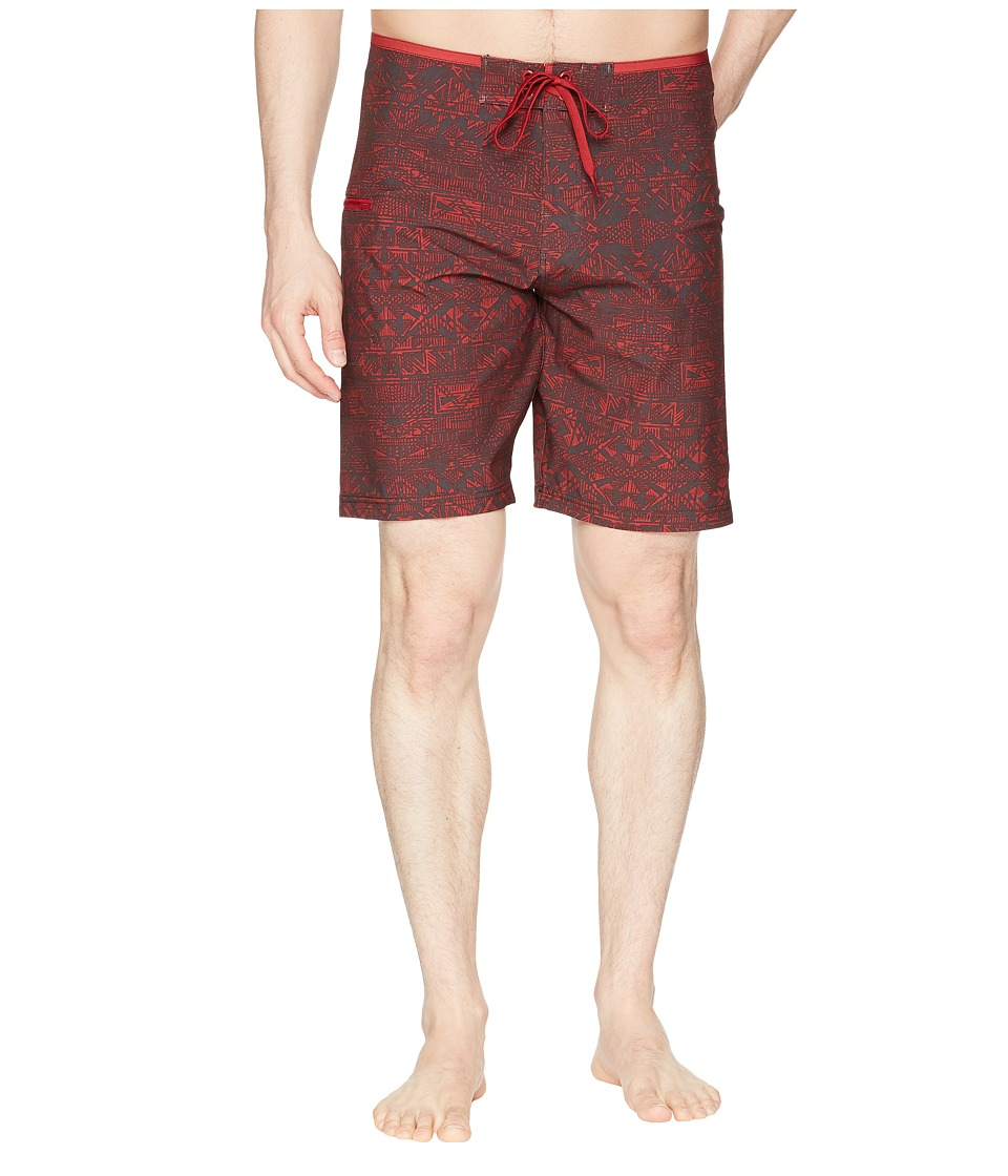 Prana Catalyst Short (Crimson Cabana) Men's Swimwear