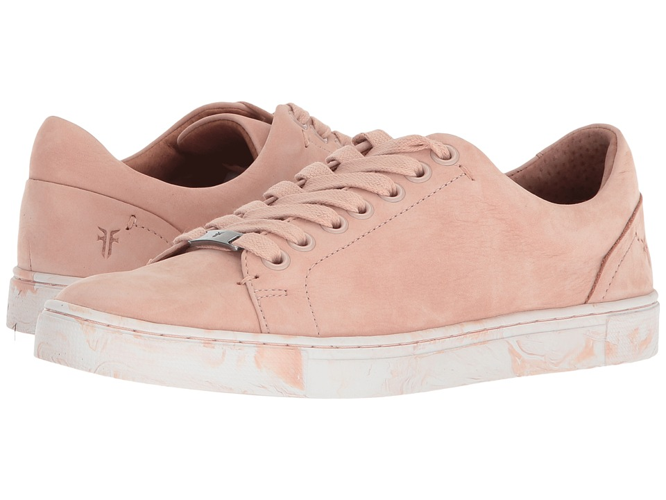Frye - Ivy Low Lace (Blush Soft Italian Nubuck 2) Womens Lace up casual Shoes