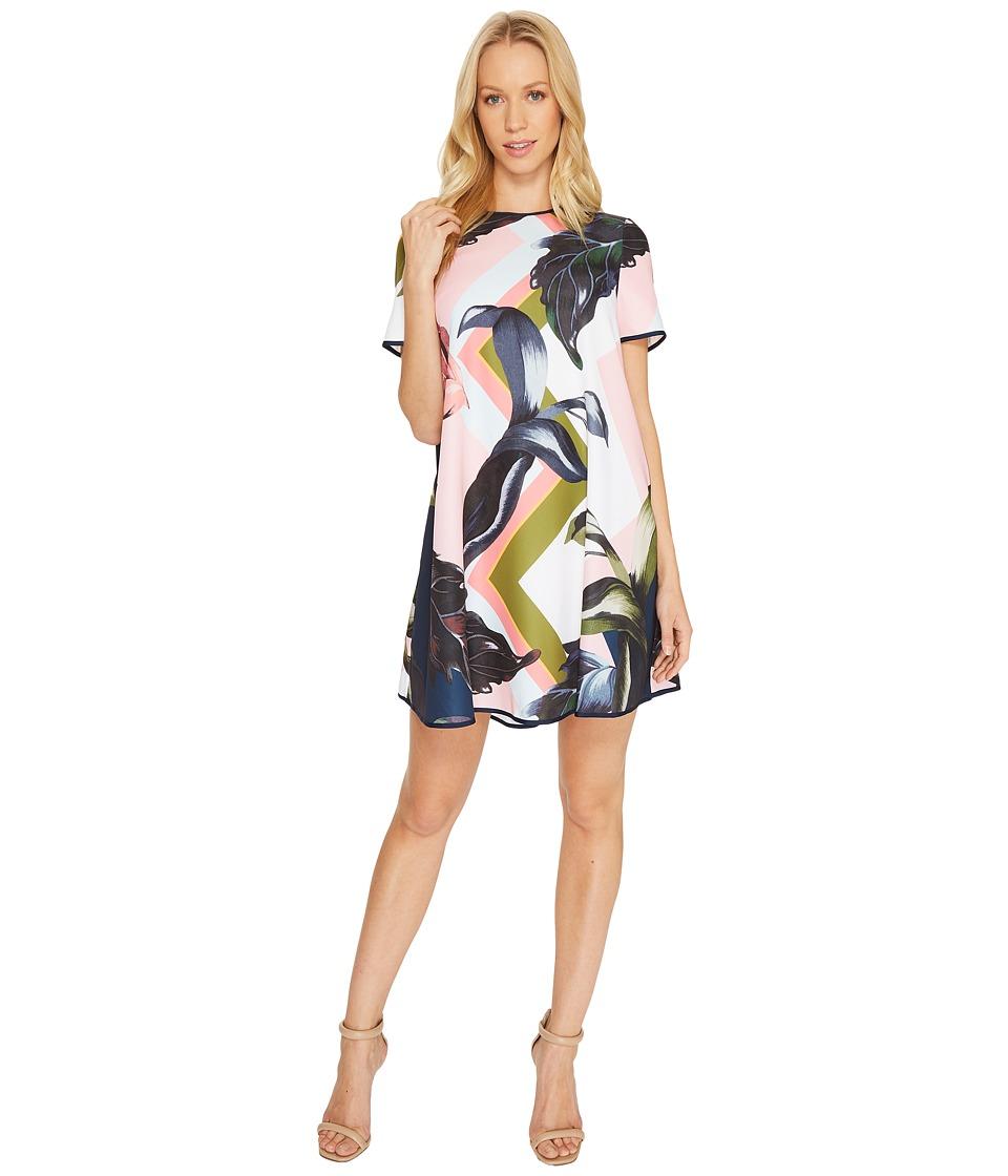 Ted Baker Ariena Eden Short Sleeve Dress (Navy) Women