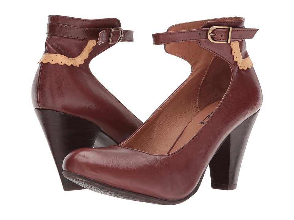 Miz Mooz Cabriole (Brown) High Heels