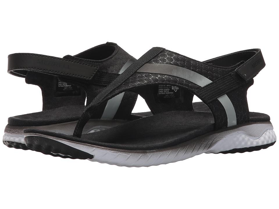 Merrell - 1SIX8 Linna Strap AC+ (Black) Womens Shoes