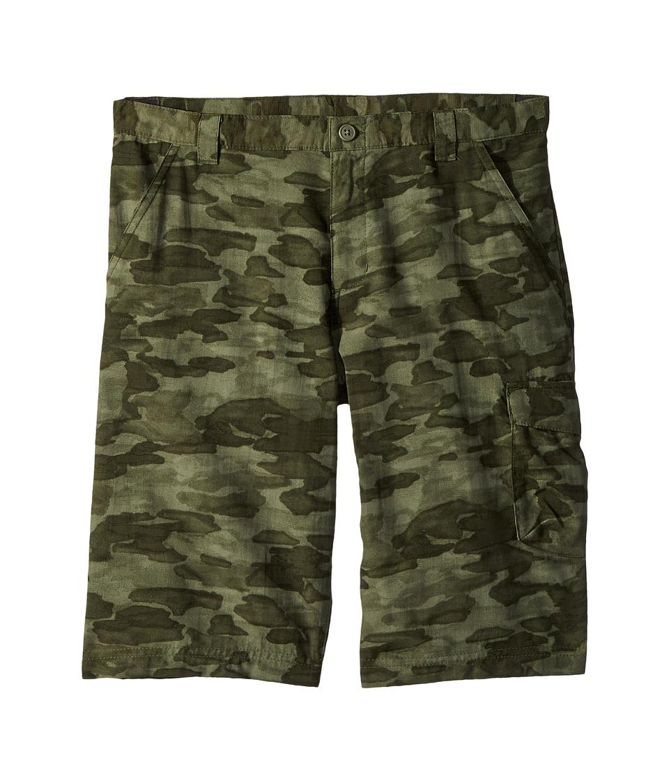 Columbia Kids - Silver Ridge Printed Shorts (Little Kids/Big Kids) (Cypress Camo) Boys Shorts