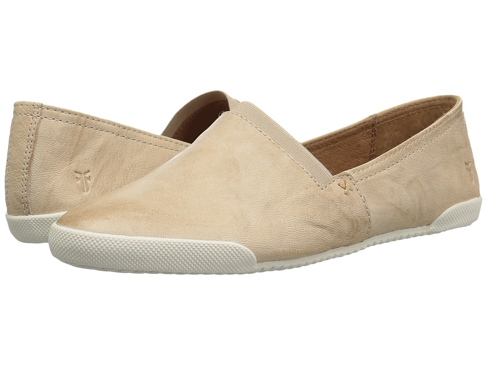 Frye - Melanie Slip-On (Cream Antique Soft Vintage) Womens Slip on  Shoes