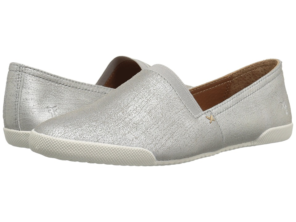 Frye Melanie Slip-On (Silver Metallic) Slip-On Shoes